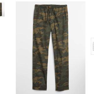 Gap Pajama Camouflage Pants Flannel Twill Men's SM